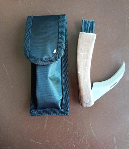 Pilzmesser Sagaform mit Etui