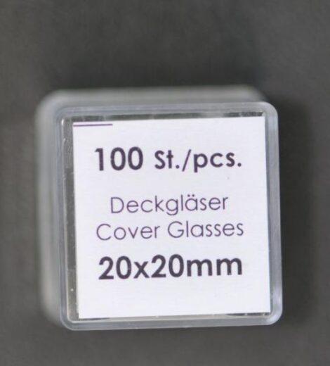 Deckgläser 20 x 20 (100er)